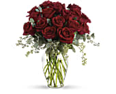 Forever Beloved - 30 Long Stemmed Red Roses in Lively, Ontario, Forget-Me-Not Flowers & Gifts