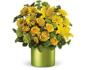 Teleflora's Say It With Sunshine in Beaumont TX, Blooms by Claybar Floral