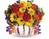 Teleflora's Brilliant Birthday Blooms in Winnipeg MB, Hi-Way Florists, Ltd