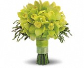 Green Glee Bouquet in Beaumont TX, Blooms by Claybar Floral