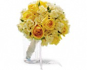 Sweet Sunbeams Bouquet in Burien WA, Iris & Peony