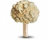 Blush Rose Bouquet in North York ON, Ivy Leaf Designs