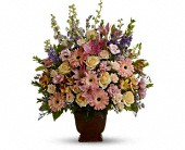 Teleflora's Loving Grace in Beaumont TX, Blooms by Claybar Floral