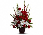 Teleflora's Tender Tribute in Crivitz WI, Sharkey's Floral and Greenhouses