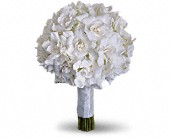 Gardenia and Grace Bouquet in Northport, New York, The Flower Basket