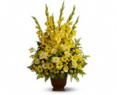 Teleflora's Sunny Memories in Beaumont TX, Blooms by Claybar Floral