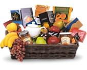 Grande Gourmet Fruit Basket in Toronto ON, LEASIDE FLOWERS & GIFTS