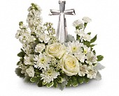 Teleflora's Divine Peace Bouquet in Crawfordsville, Indiana, Milligan's Flowers & Gifts
