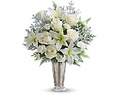 Teleflora's Winter Glow DX in Rush NY, Chase's Greenhouse