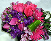 Hot Pink & Purple Love in Katy TX, Kay-Tee Florist on Mason Road