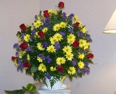 Funeral Basket in Goldsboro NC, Parkside Florist