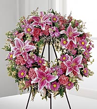 FTD We Fondly Remember Wreath in Woodbridge VA, Lake Ridge Florist