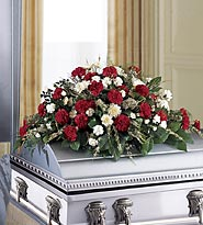 FTD Sincerity Casket Spray in Woodbridge VA, Lake Ridge Florist
