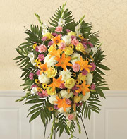 1800Flowers Sympathy Standing Spray in Woodbridge VA, Lake Ridge Florist