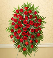 1800Flowers Four Dozen Rose Standing Spray in Woodbridge VA, Lake Ridge Florist