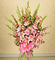 1800Flowers Sympathy Bouquet Standing Spray in Woodbridge VA, Lake Ridge Florist