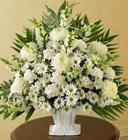 1800Flowers Sympathy Basket in White in Woodbridge VA, Lake Ridge Florist