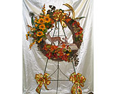 Silk Grapevine Easel in Kentwood LA, Glenda's Flowers & Gifts, LLC