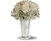 <br>Teleflora's White Lace Centerpeice in Thornhill, Ontario, Orchid Florist