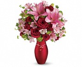 Teleflora's Charm Her Bouquet in Aston PA, Wise Originals Florists & Gifts