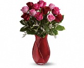 Teleflora's Say I Love You Bouquet - Dozen Roses in Rush NY, Chase's Greenhouse