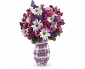 Teleflora's Lavender Plaid Bouquet in New Britain CT, Weber's Nursery & Florist, Inc.