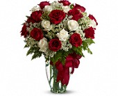 Love's Divine Bouquet - Long Stemmed Roses in Burlington WI, gia bella Flowers and Gifts