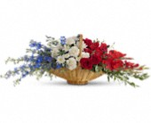 Patriot's Promise in Gaithersburg, Maryland, Flowers World Wide Floral Designs Magellans