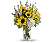 To See You Smile Bouquet by Teleflora in Weymouth MA, Bra Wey Florist