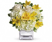 Teleflora's Sweetest Sunrise Bouquet in Rush NY, Chase's Greenhouse