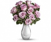 Teleflora's Roses and Moonlight Bouquet in Rush NY, Chase's Greenhouse