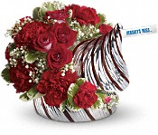 <p><font color=#FF0000><b>Sold out</b></font><br>Hershey's Hugs Bouquet</p> in Columbia&nbsp;TN, Doris' Flowers & Gifts