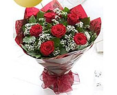 6 Long Stem Red Roses in Calgary AB, The Tree House Flower, Plant & Gift Shop