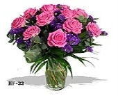 Pink Roses plus in Fairfield CT, Glen Terrace Flowers and Gifts