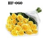 18 Roses - Yellow - Wrapped in Cello in Norwalk CT, Richard's Flowers, Inc.