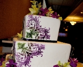 Orchid Cake in Green Bay, Wisconsin, Enchanted Florist
