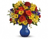 Teleflora's Three Cheers for You! in Beaumont TX, Blooms by Claybar Floral