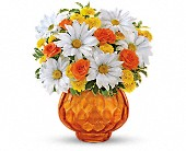 Teleflora's Rise and Sunshine in San Jose CA, Rosies & Posies Downtown