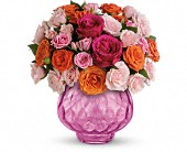 Teleflora's Sweet Fire Bouquet with Roses in La Prairie QC, Fleuriste La Prairie