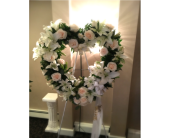 Open White Heart in Staten Island, New York, Kitty's and Family Florist Inc.