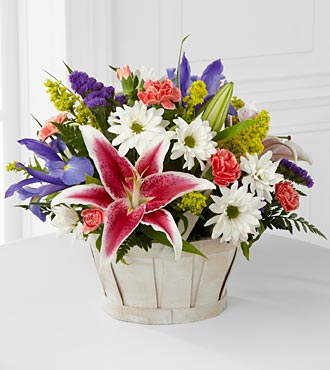 The FTD� Wondrous Nature� Bouquet - BASKET INCLUDE in Highlands Ranch CO, TD Florist Designs
