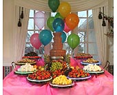 Chocolate Fountain Birthday Parties in Grand Island, Nebraska, Roses For You!