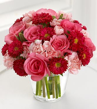 The FTD� Precious Heart� Bouquet - VASE INCLUDED in Highlands Ranch CO, TD Florist Designs