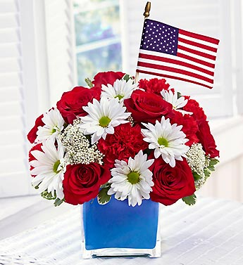 Freedom Fighters Bouquet in Woodbridge VA, Lake Ridge Florist