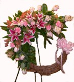 Sweet Embrace Grapevine Wreath in Lake Charles LA, A Daisy A Day Flowers & Gifts, Inc.