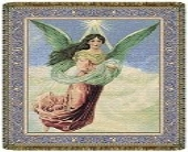 Heavenly Angel Tapestry Throw in Columbus OH, OSUFLOWERS .COM
