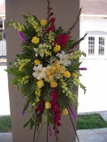 Lasting Memories Spray in Lake Charles LA, A Daisy A Day Flowers & Gifts, Inc.