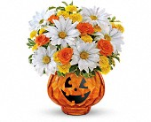 Teleflora's Glass-O'-Lantern Bouquet in San Clemente CA, Beach City Florist