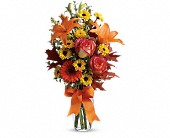 Burst of Autumn in Longview TX, Casa Flora Flower Shop