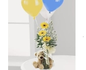 Welcome Bear Bouquet in Smyrna GA, Floral Creations Florist